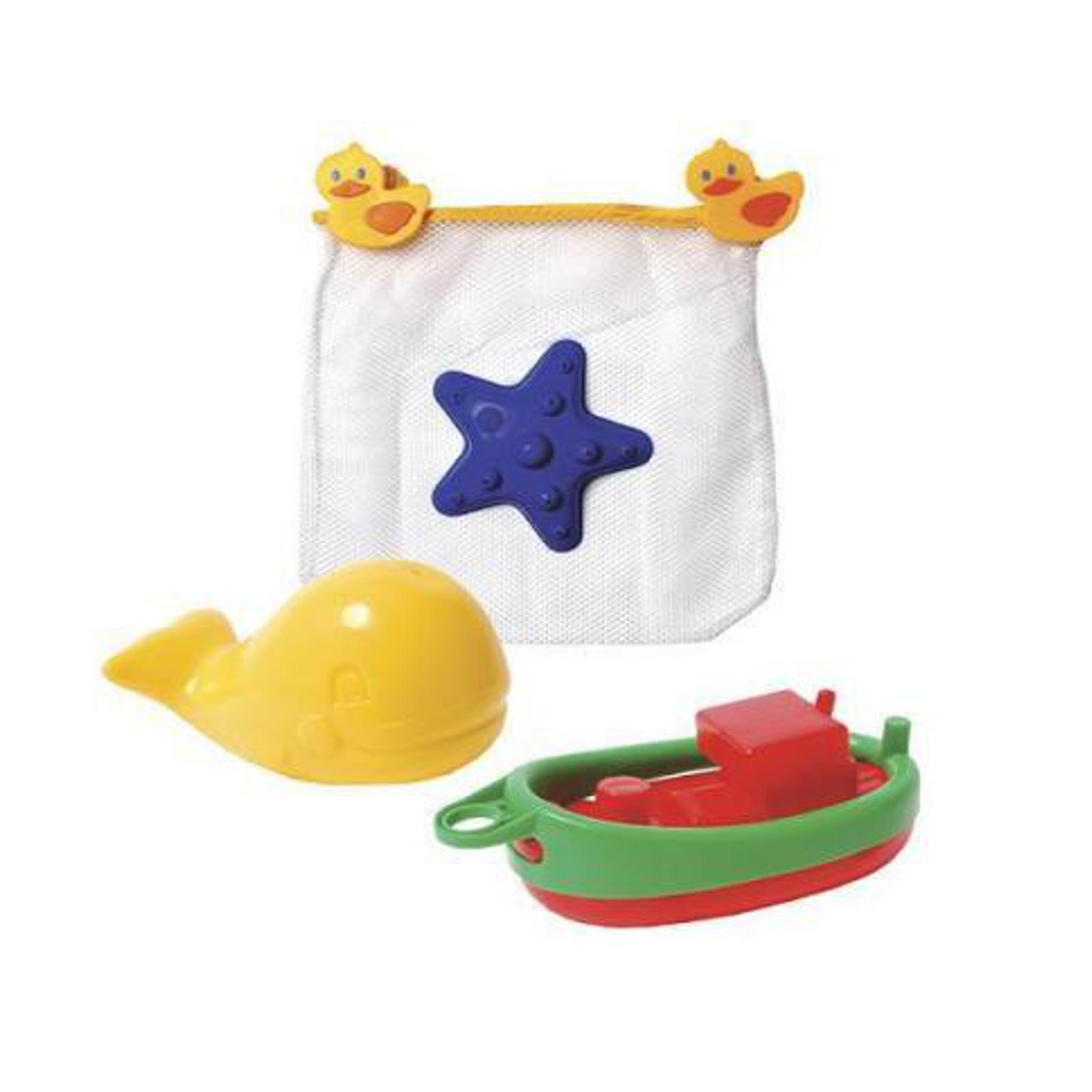 Игрушка для ванны Fun Time Лодка, морская звезда, кит<br>