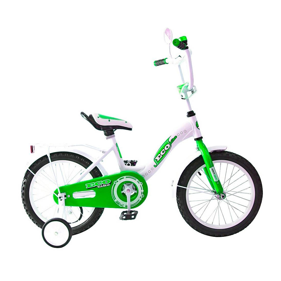 Велосипед двухколесный RT Aluminium BA Ecobike 14 KG1421 Зеленый<br>