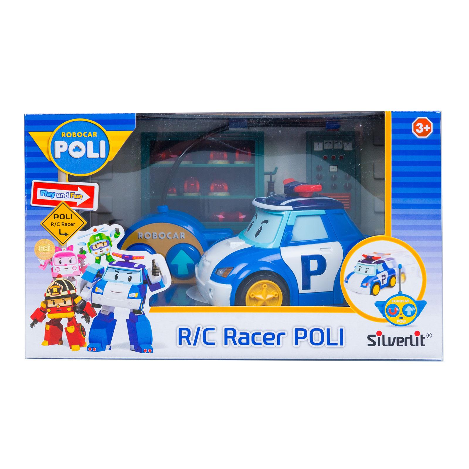 Машинки Silverlit Poli Robocar на радиоуправлении Полицейская 15 см с 3 лет<br>