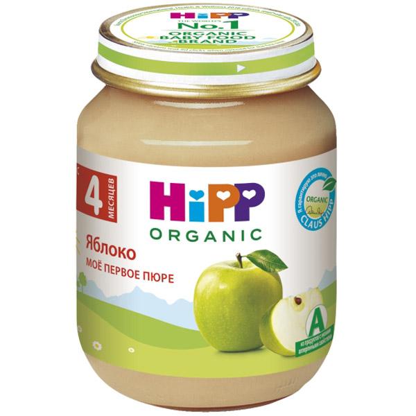 Пюре Hipp фруктовое 125 гр Яблоко (с 4 мес)<br>
