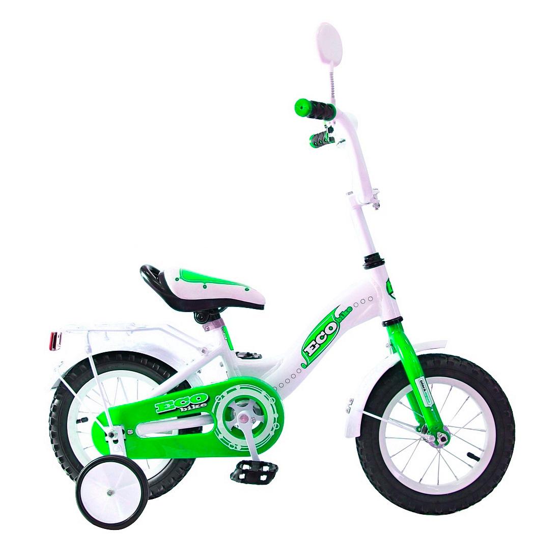 Велосипед двухколесный RT Aluminium BA Ecobike 12 KG1221 Зеленый<br>