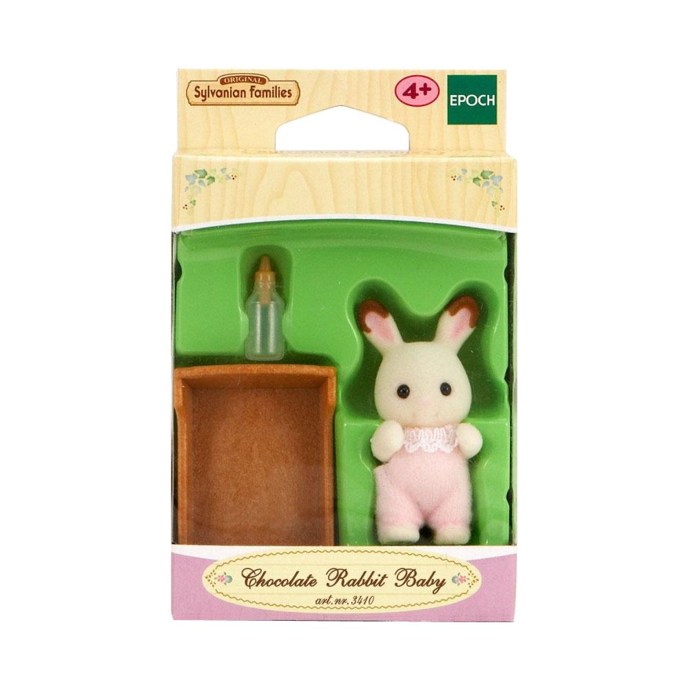 Фигурки животных Sylvanian Families Малыш Шоколадный Кролик