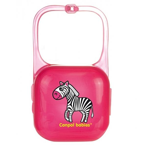 Контейнер для пустышек Canpol Babies Для пустышки (розовый)<br>