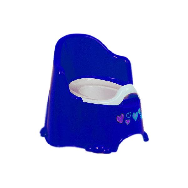 Горшок DUNYA Plastic Комфорт Цвет - голубой<br>