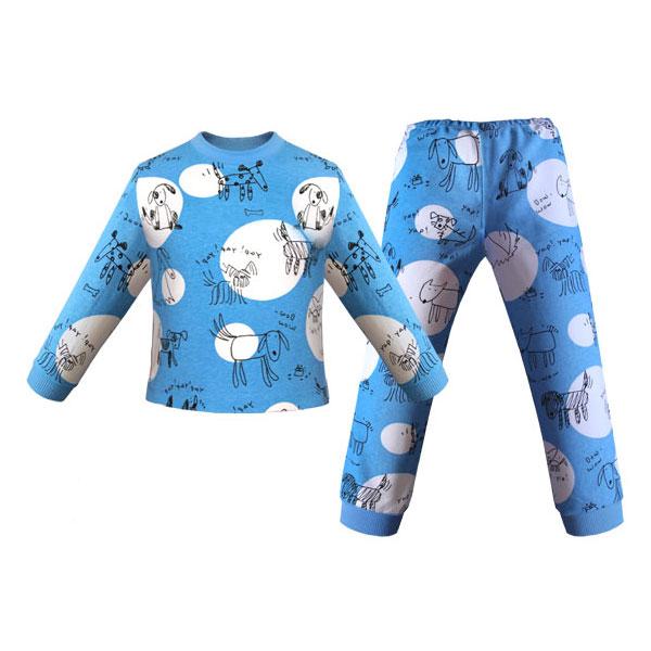 """Пижама Детская радуга """"Круги"""" размер 80 от Младенец.ru"""