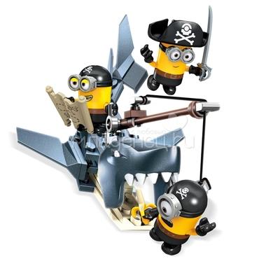 Игровой набор Mega Bloks Миньоны Игровои набор Закуска акулы