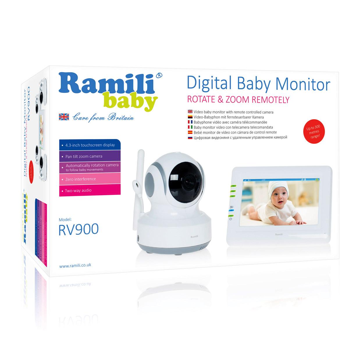 Видеоняня Ramili Baby Видеоняня Ramili Baby RV900