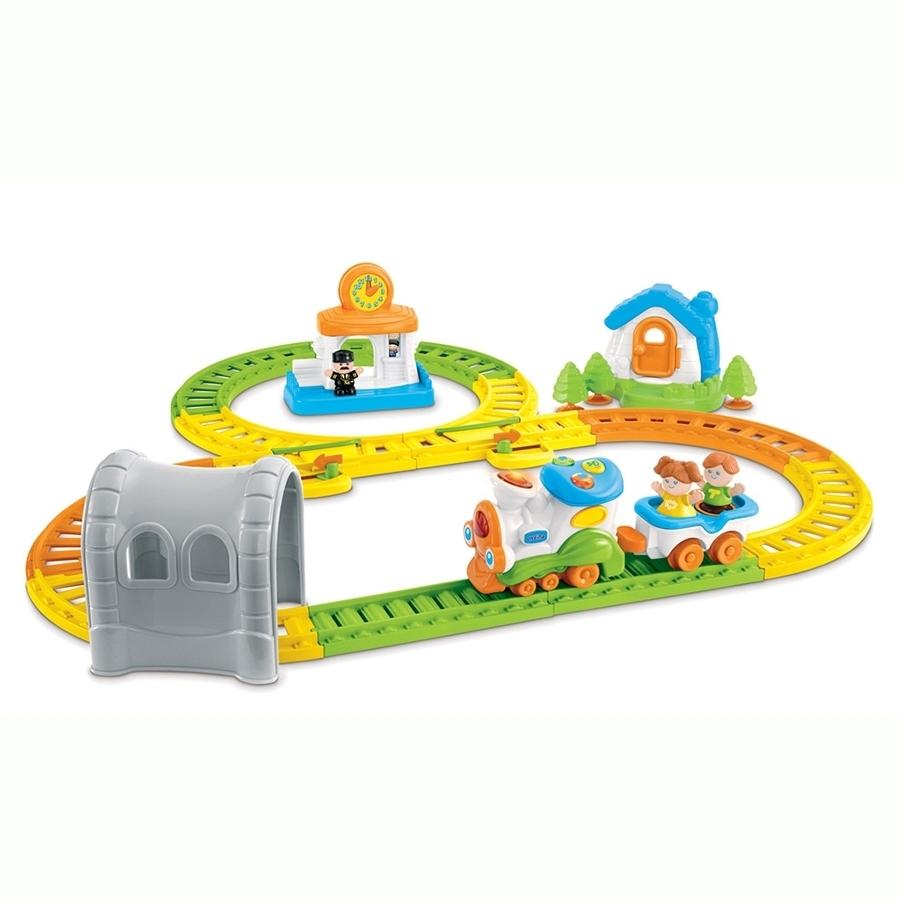 Развивающая игрушка Weina музыкальная Железная дорога<br>