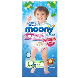 Трусики Moony для мальчиков 9-14 кг (44 шт) Размер L 2016 год