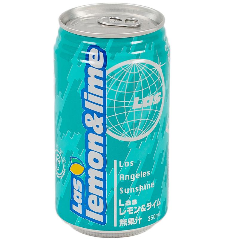 Напиток LAS Лимон и лайм 350 гр