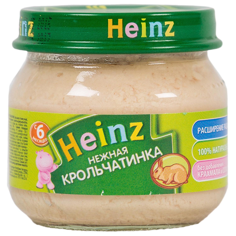 Пюре Heinz мясное 80 гр Кролик (с 6 мес)<br>