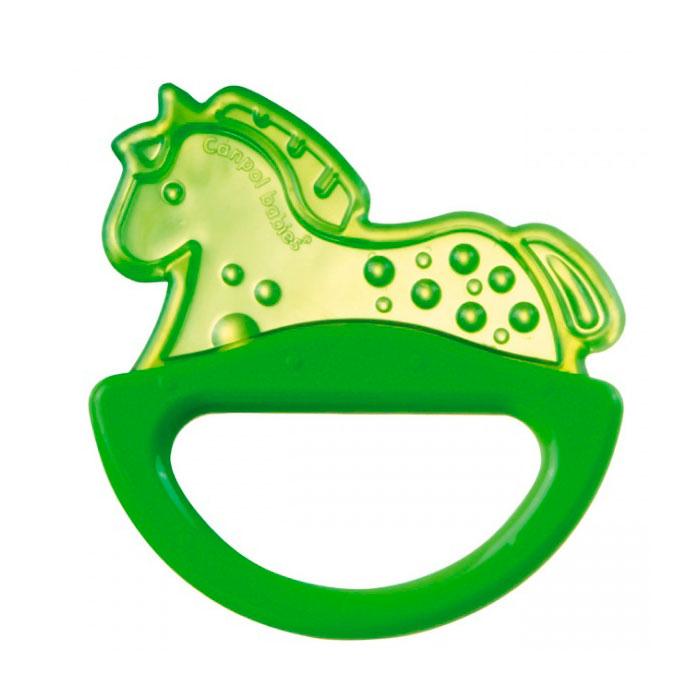 Погремушка-прорезыватель Canpol Babies Лошадка Зеленый<br>