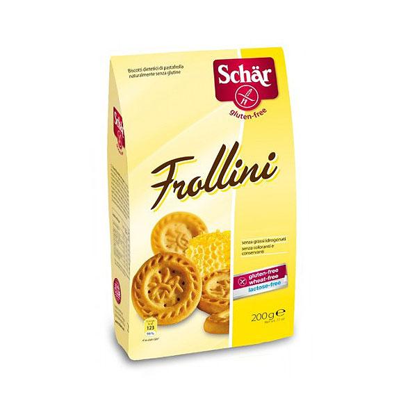 Печенье Dr. Schar Песочное к чаю Frollini 200 гр<br>