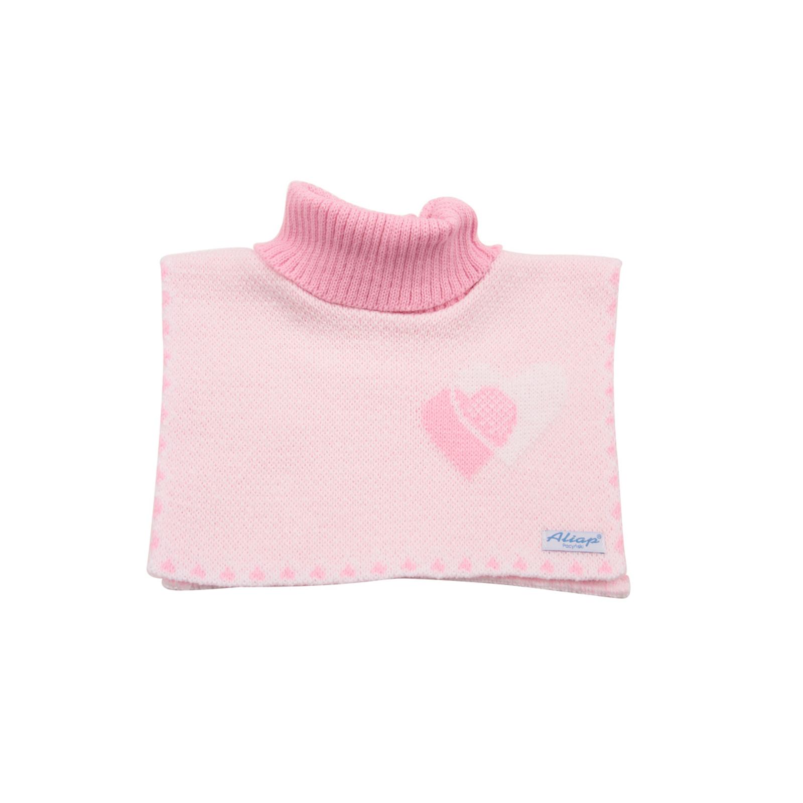Шарф-воротник Aliap c сердечком Свелто-розовый