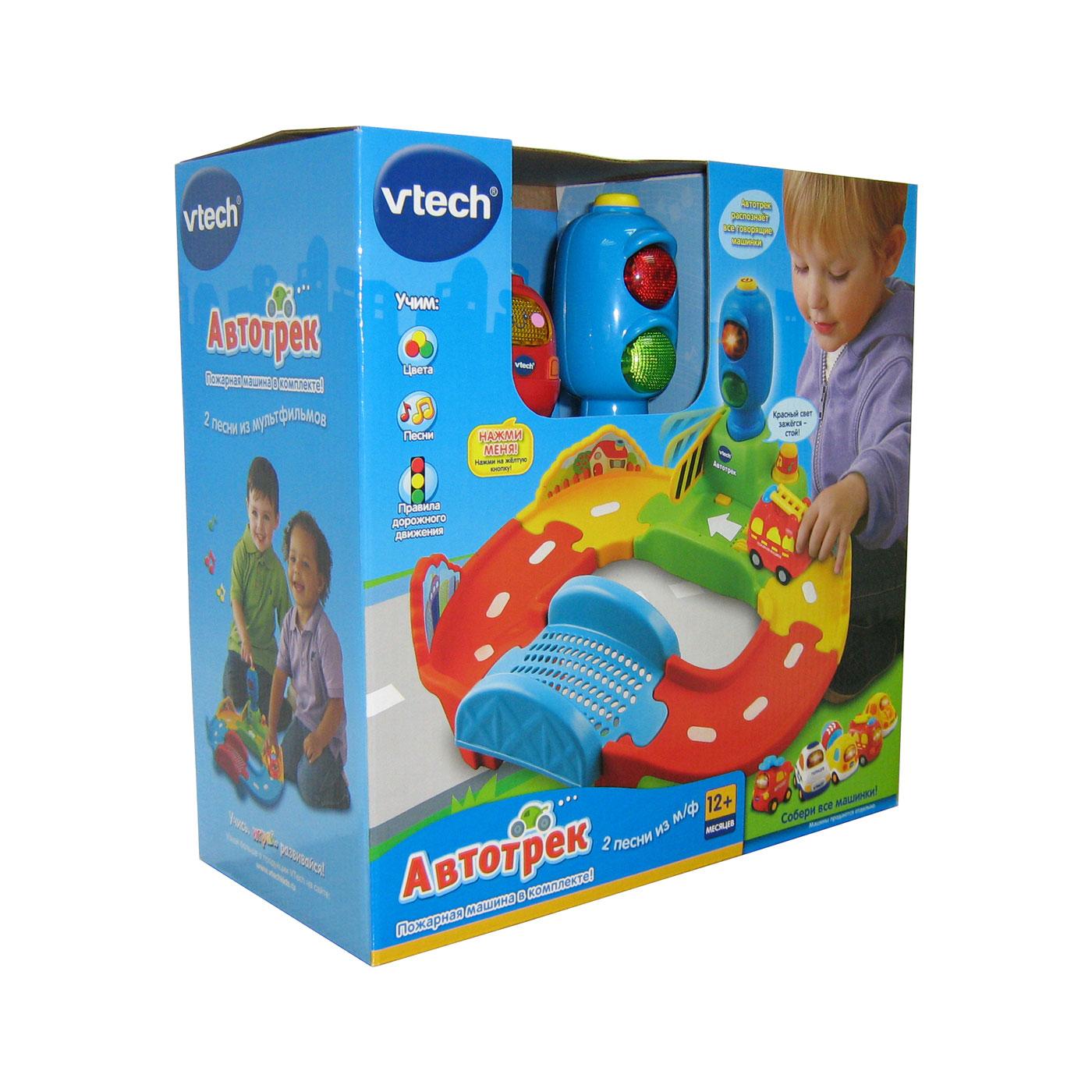 Развивающая игрушка Vtech Автотрек
