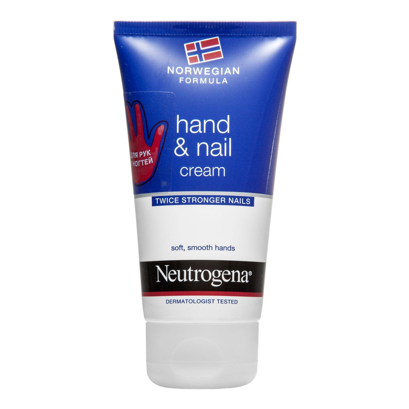 Крем для рук и ногтей Neutrogena Норвежская Формула 75 мл<br>