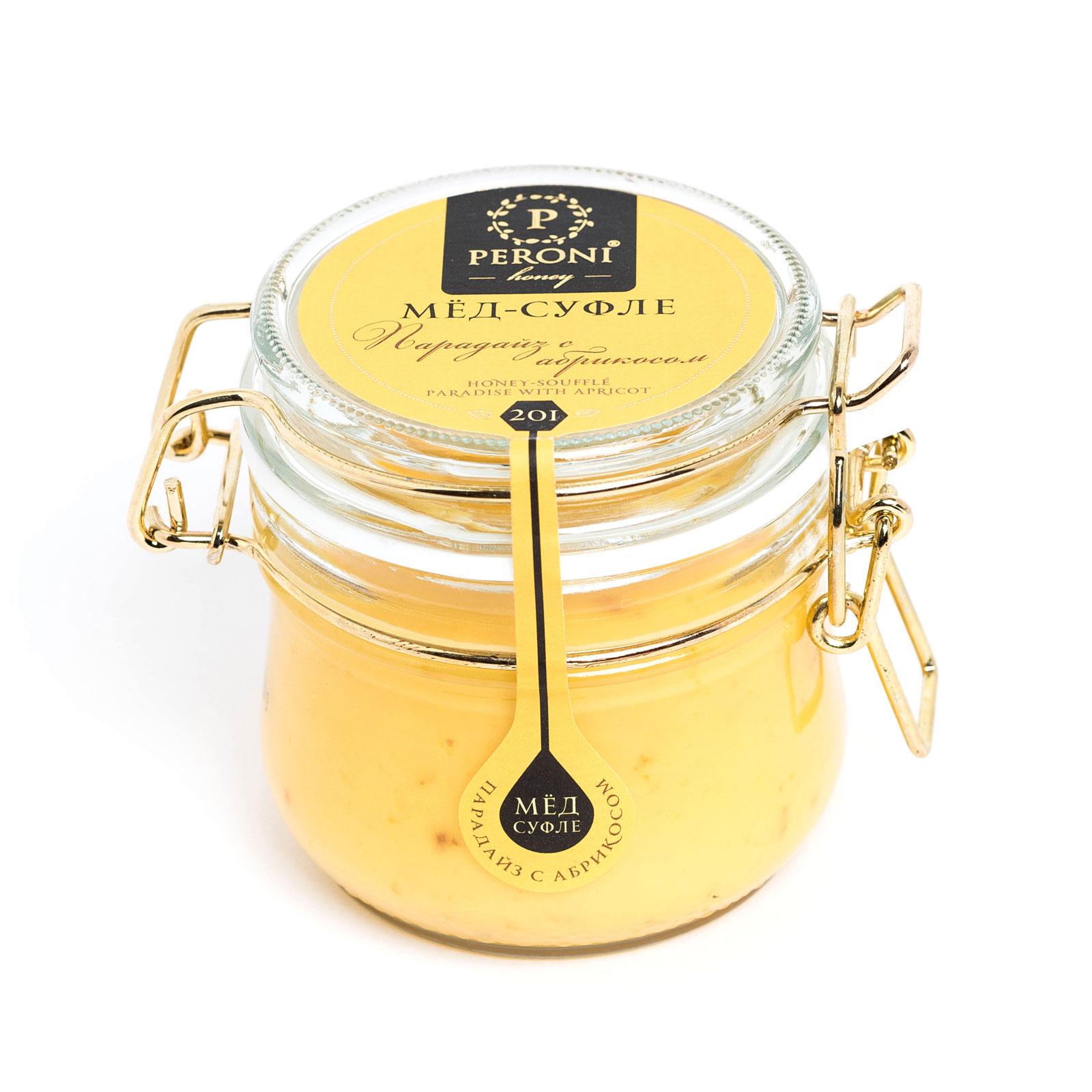 Мёд-суфле Peroni Honey 250 мл Парадайз с абрикосом<br>