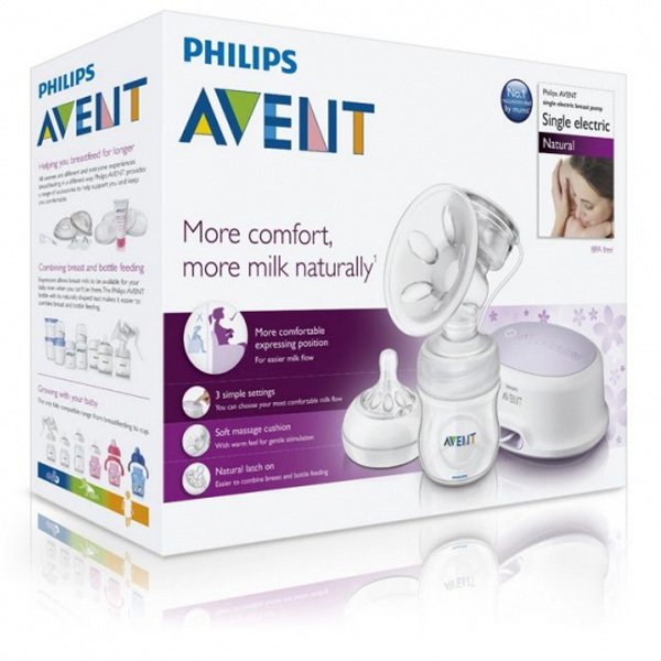 ����������� Philips Avent ����������� SCF 332/01 � ��������� ��������� Natural 125 ��
