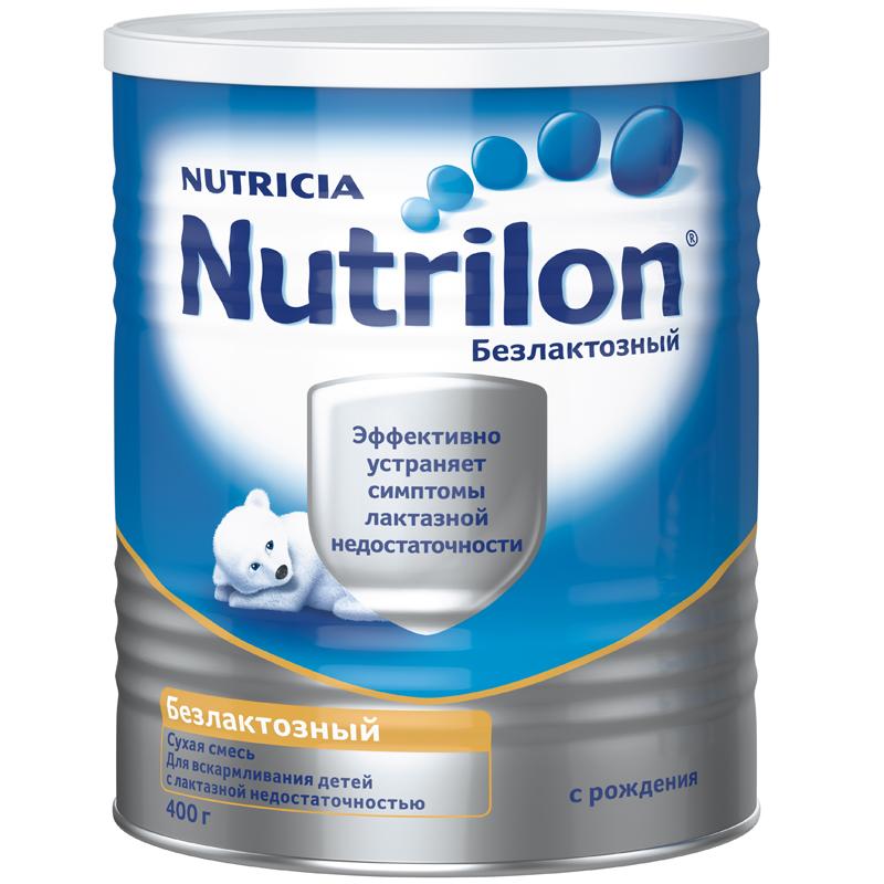 Заменитель Nutricia Nutrilon Безлактозный 400 гр с 0 мес<br>