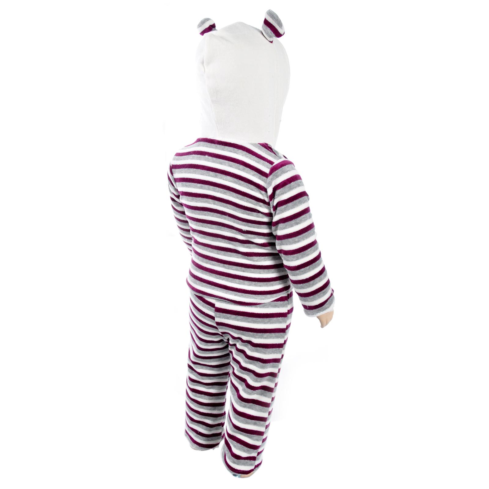 Комплект одежды Estella для девочки, брюки, кофточка, цвет - Темно-розовый Размер 74