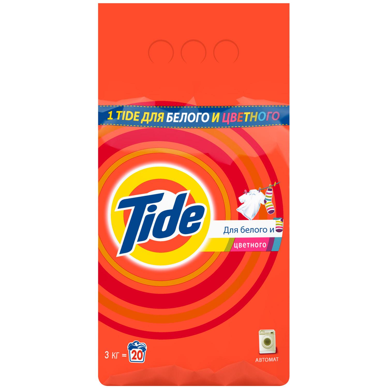 Стиральный порошок Tide Для белого и цветного 3 кг<br>