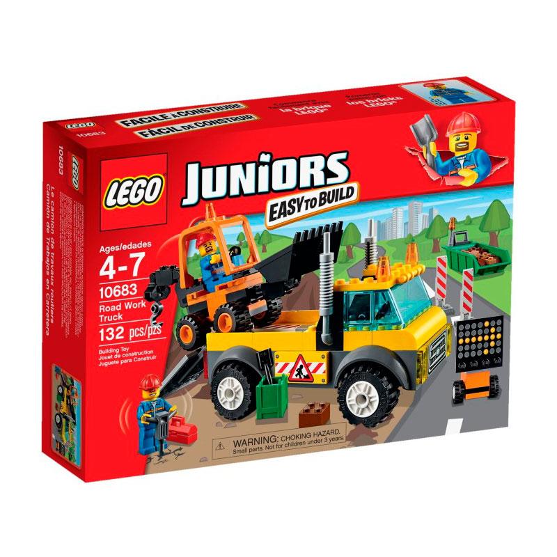 Конструктор LEGO Junior 10683 Грузовик для дорожных работ<br>