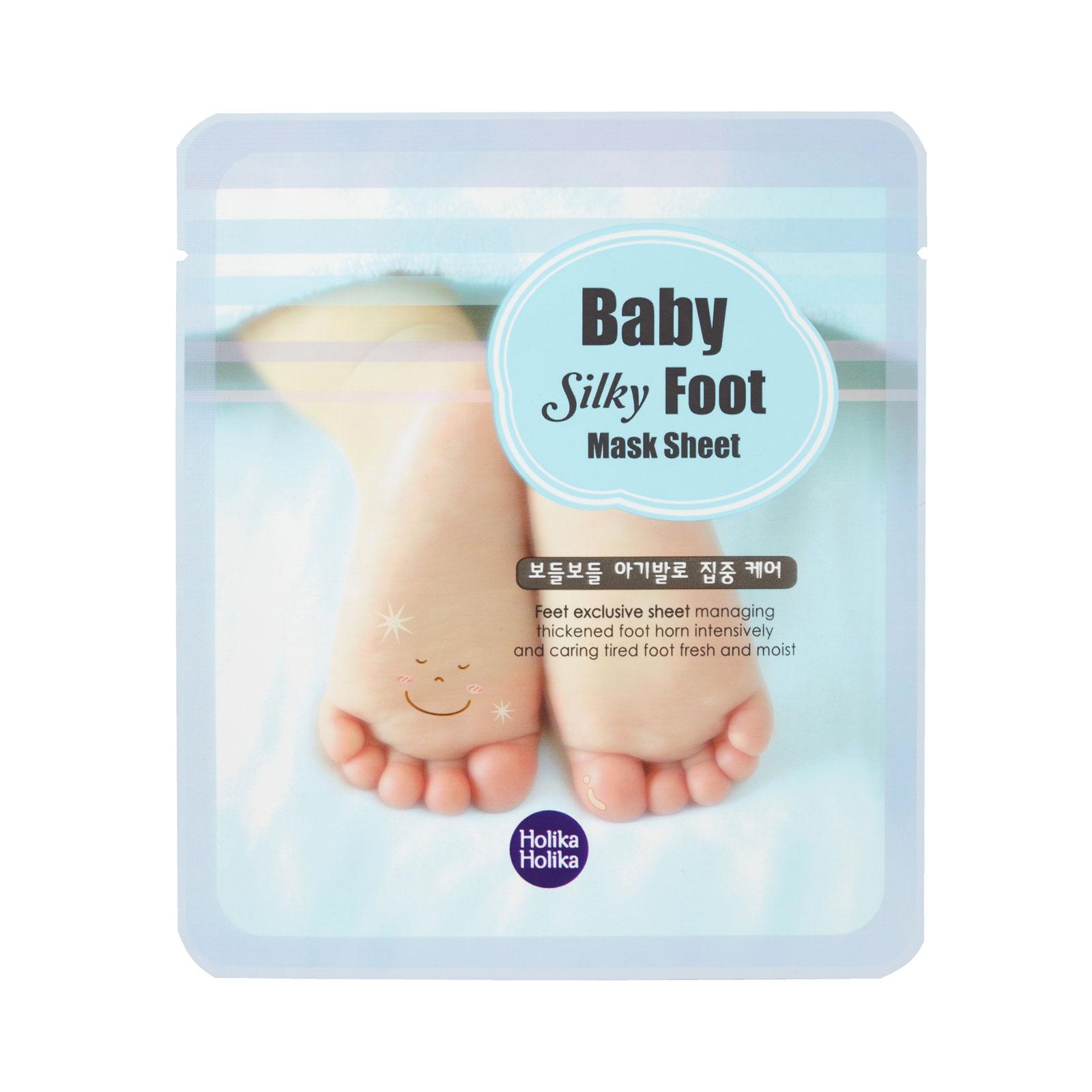 Маска для ног Holika Holika Baby Silky 2 шт по 18 мл<br>
