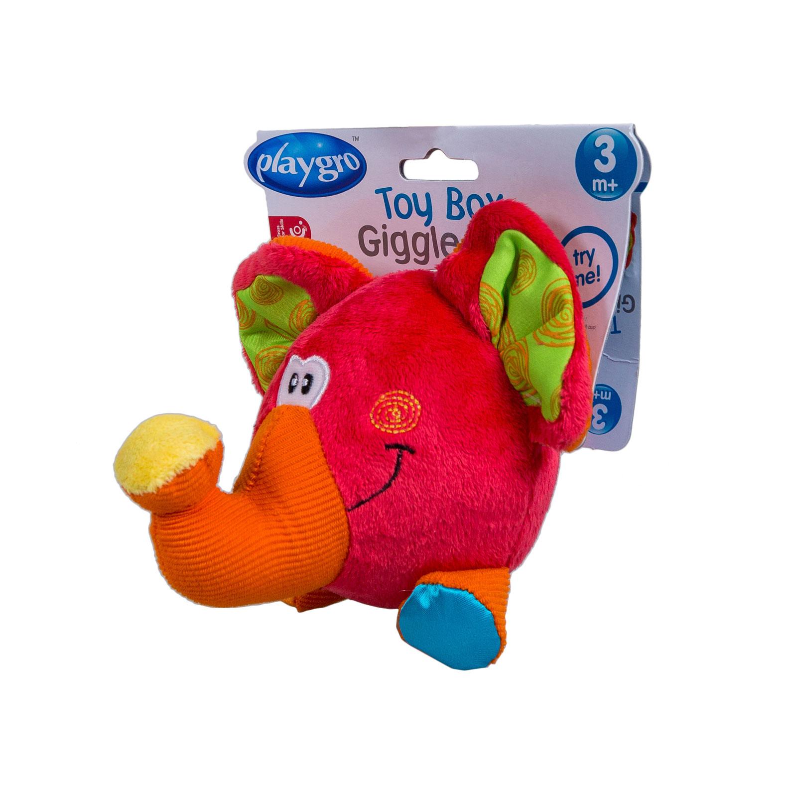 Развивающая игрушка Playgro Слоник с 3 мес. (мягкая)<br>