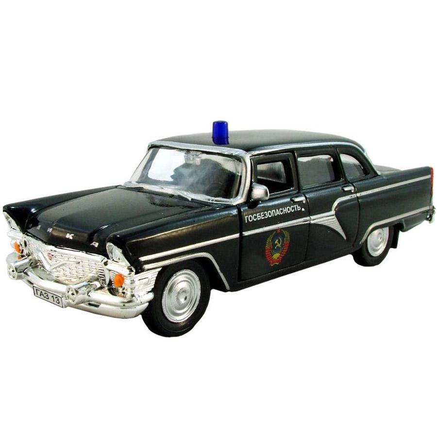 Машинка Autotime ГАЗ-13 ЧАЙКА КГБ 1:43<br>