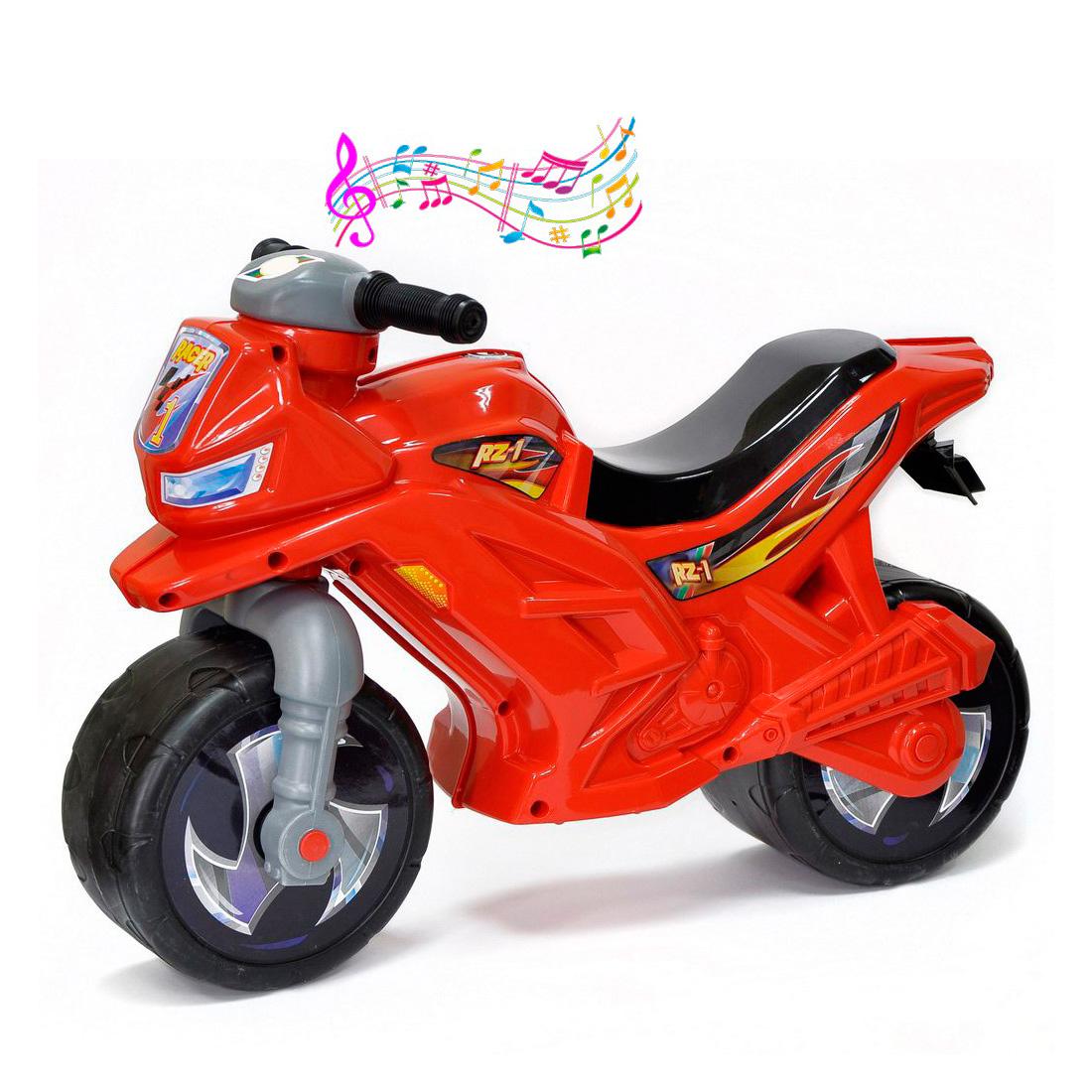 Каталка-беговел RT Racer RZ 1 ОР501в3 с музыкой Красный<br>