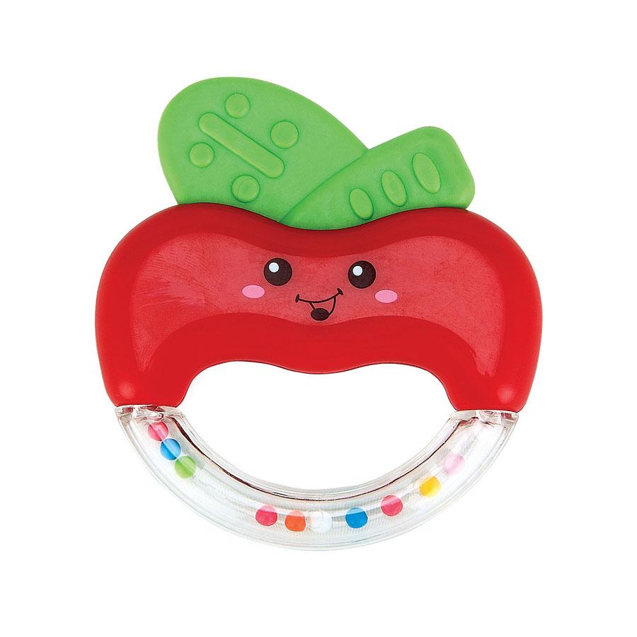 Погремушка Happy Baby Яблочко APPLE FUN с 3 мес.