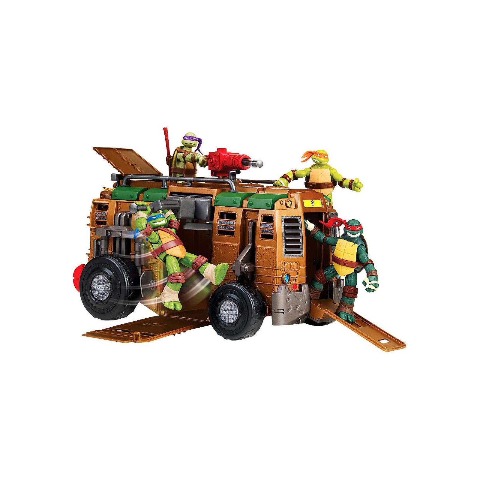 Игровой набор Playmates Черепашки Ниндзя Транспортное средство для путешествия по подземелью<br>