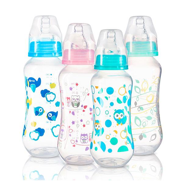 Бутылочка BabyOno стандартная Антиколиковая 240 мл (с 0 мес)<br>