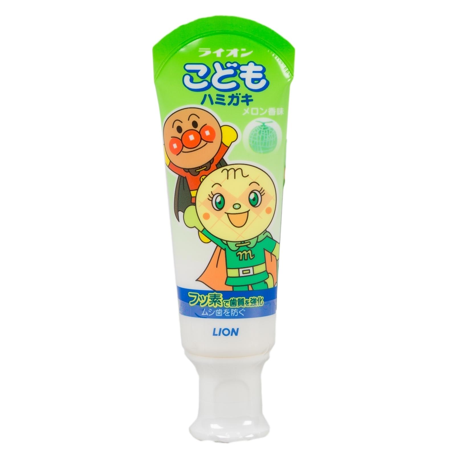 Детская зубная паста Lion 40 гр со вкусом дыни (слабообразивная) 40 гр<br>