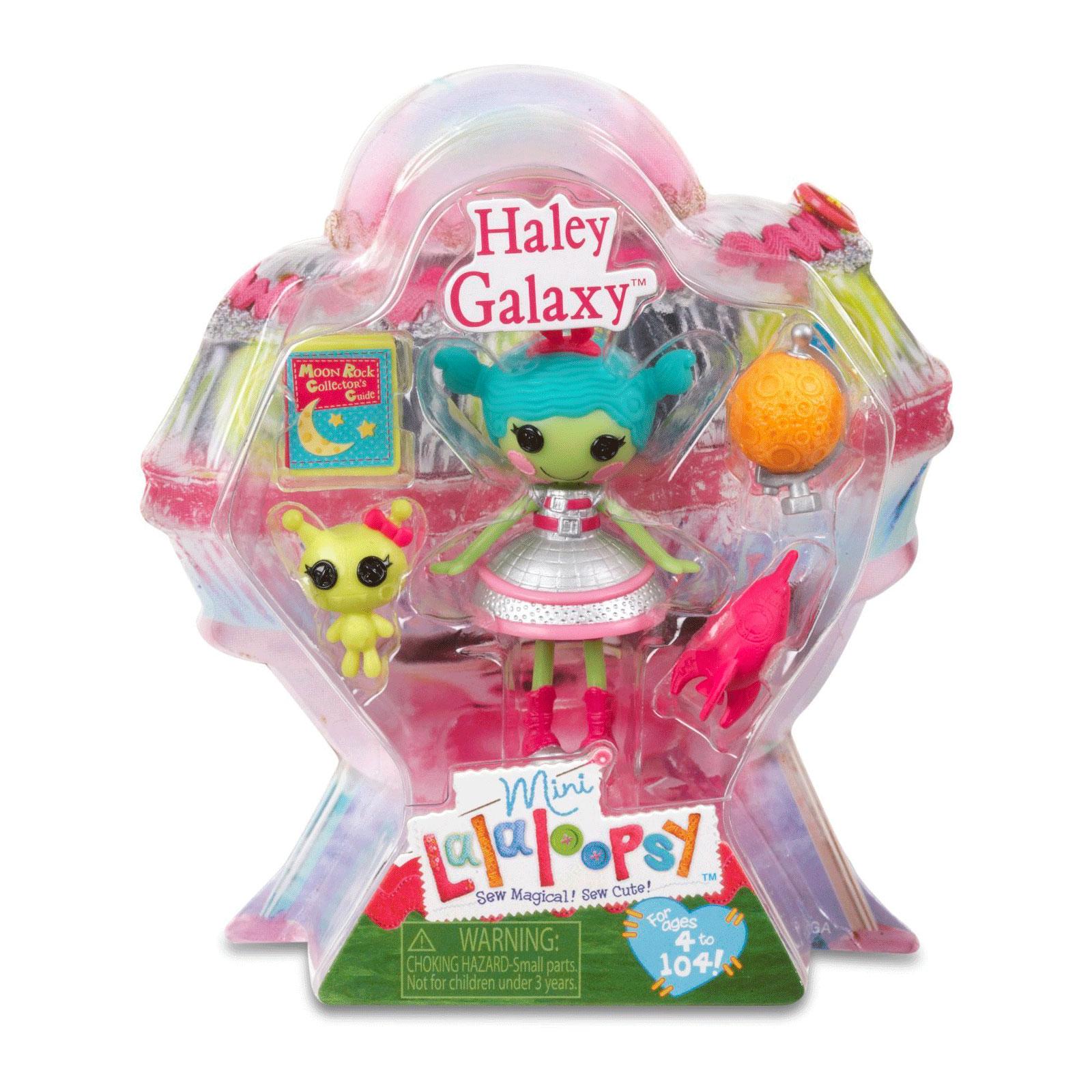 Кукла Mini Lalaloopsy с аксессуарами Haley Galaxy