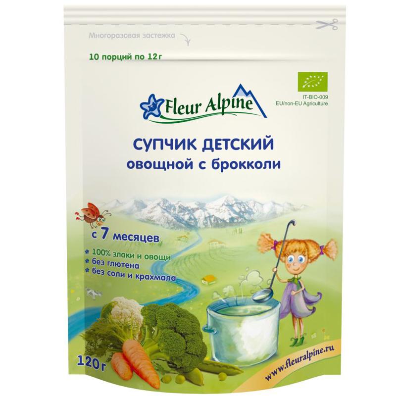 Супчик Fleur Alpine 120 гр Брокколи (с 7 мес)<br>