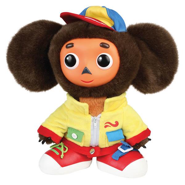 Мягкая игрушка Мульти-пульти Чебурашка учит одеваться<br>