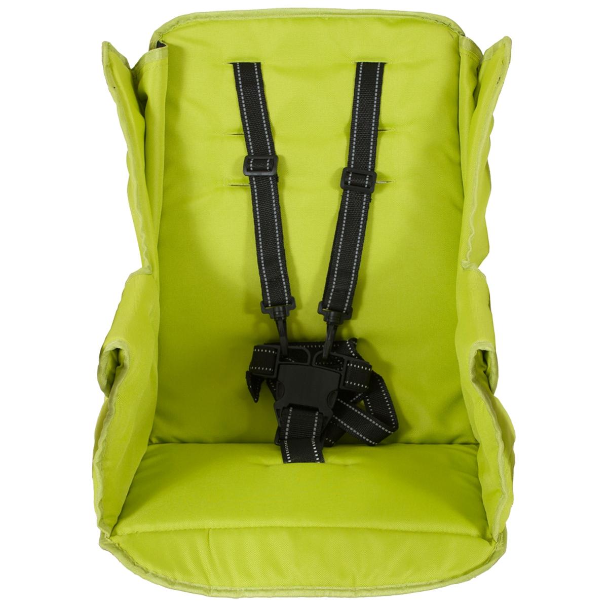 Второе сидение Joovy Caboose Too Seat для колясок Caboose, Caboose Ultralight и Big Caboose Зеленое<br>