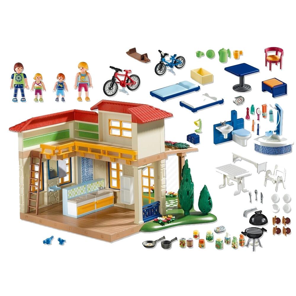 Игровой набор Playmobil Каникулы: Летний домик