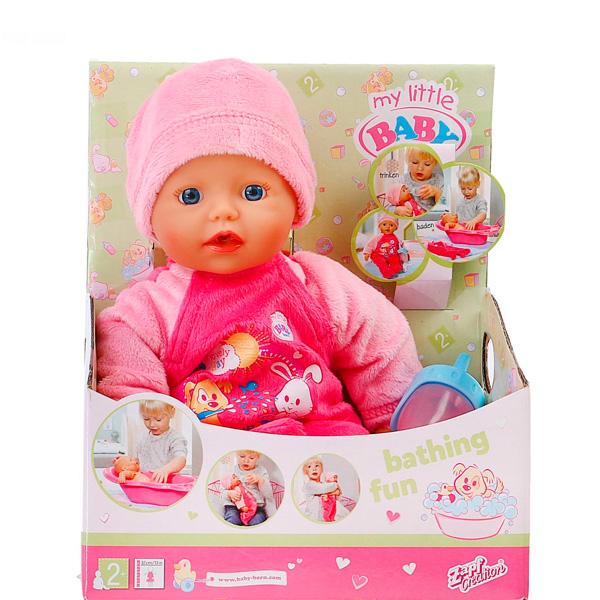 Кукла Zapf Creation My little Baby Born 32 см Быстросохнущая