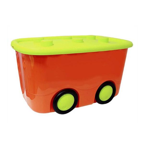 Ящик для игрушек Idea МОБИ Оранжевый<br>