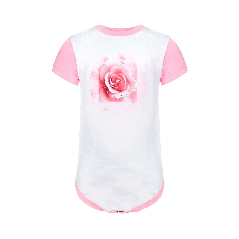 Боди Котмаркот Розы рост 86 розовый<br>