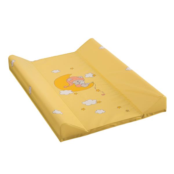 Пеленальная доска Maltex с жёстким основание 50х80 см Желтый<br>