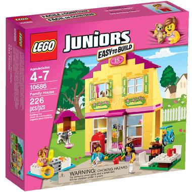 Конструктор LEGO Junior 10686 Семейный домик