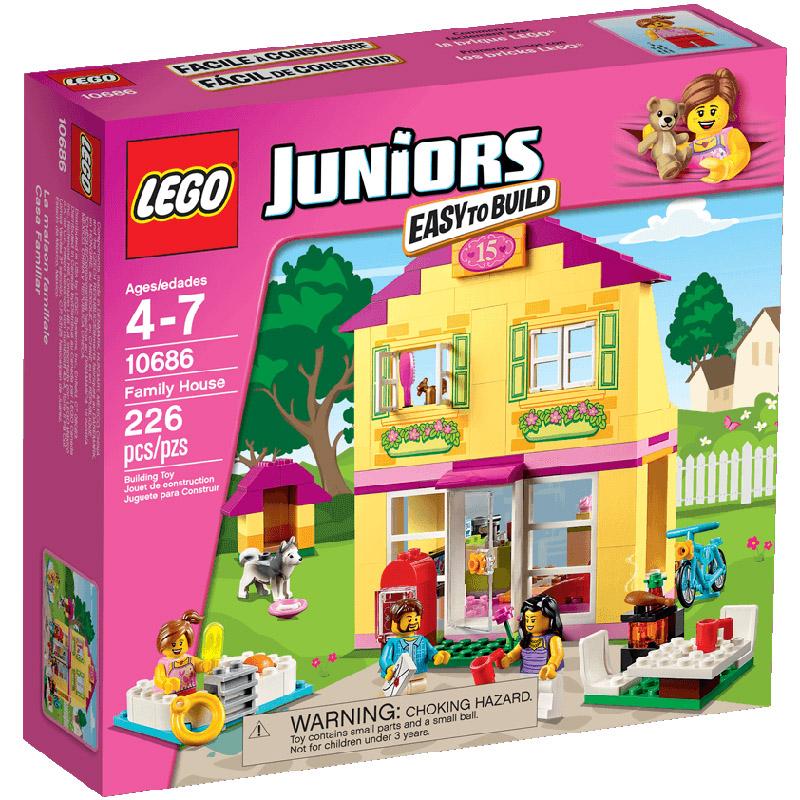 Конструктор LEGO Junior 10686 Семейный домик<br>