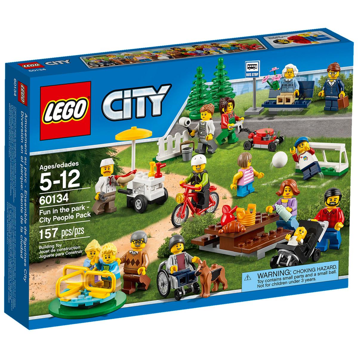 Конструктор LEGO City 60134 Праздник в парке — жители Lego City<br>