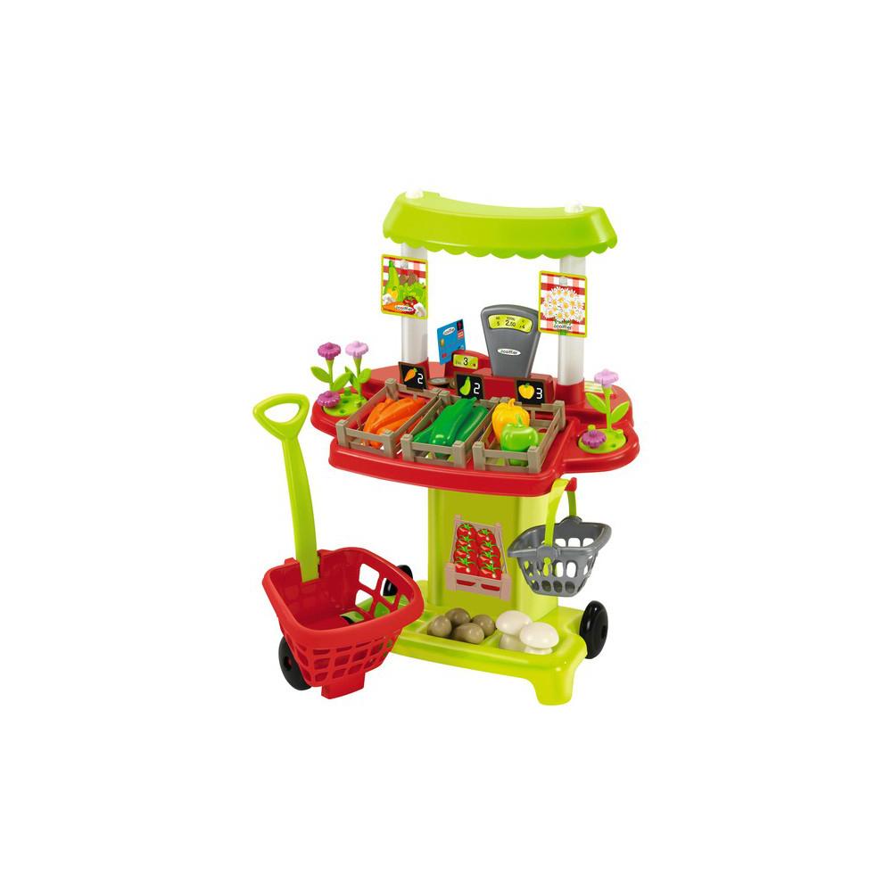 Игровой набор Ecoffier Супермаркет овощной<br>