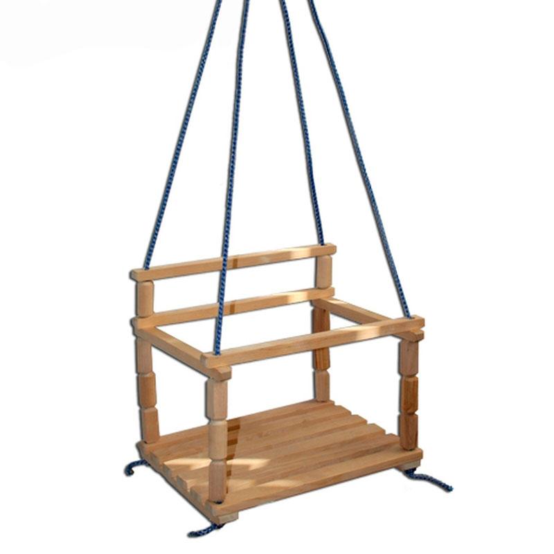 Качели Промтекс Подвесные деревянные<br>