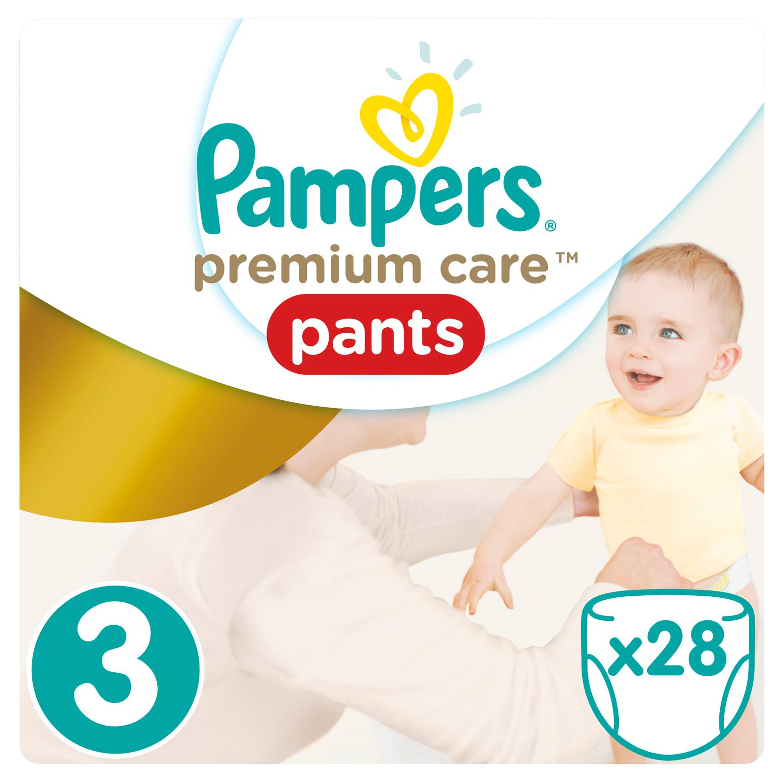 Трусики Pampers Premium Care 6-11 кг (28 шт) Размер 3<br>