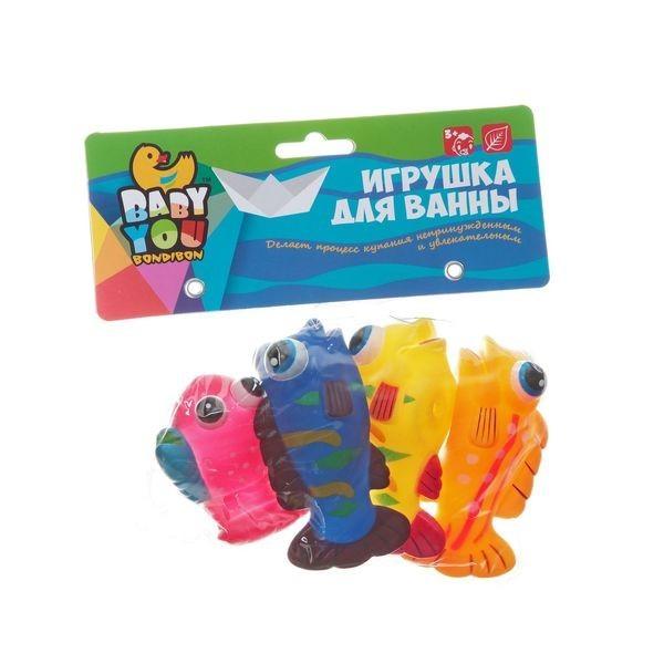 Игрушки для ванной Bondibon Рыбки, Рак
